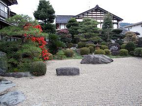 大阪屋旅館 お庭