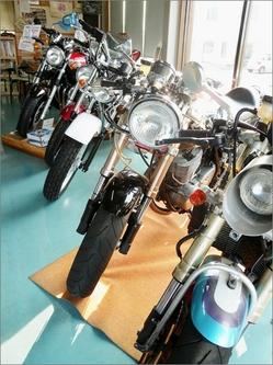 展示バイク