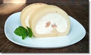 梨ロールケーキ