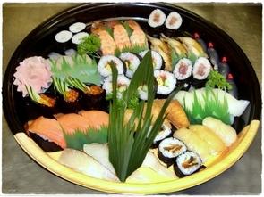 寿司盛り 3,000円(税別)