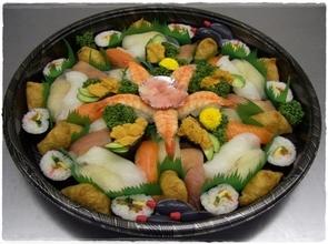 寿司盛り 4,000円(税別)