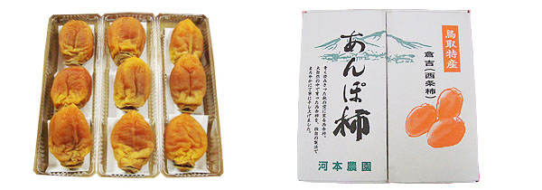 あんぽ柿 LL玉1箱(9個入)