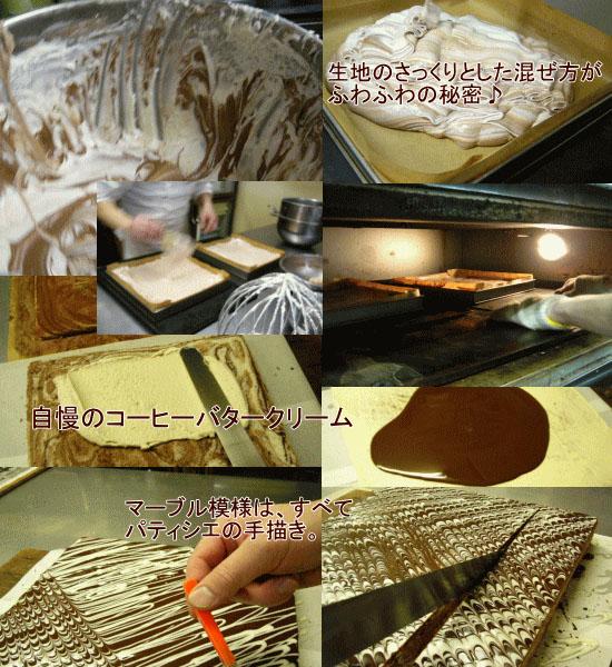 砂丘マーブルの製造過程