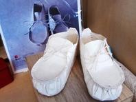和紙でできた靴