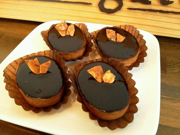 キャラメルチョコタルト